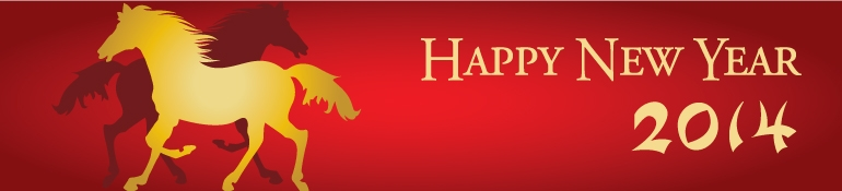 Happy Chinese New Year of the Horse 2014 from Karen Armstrong