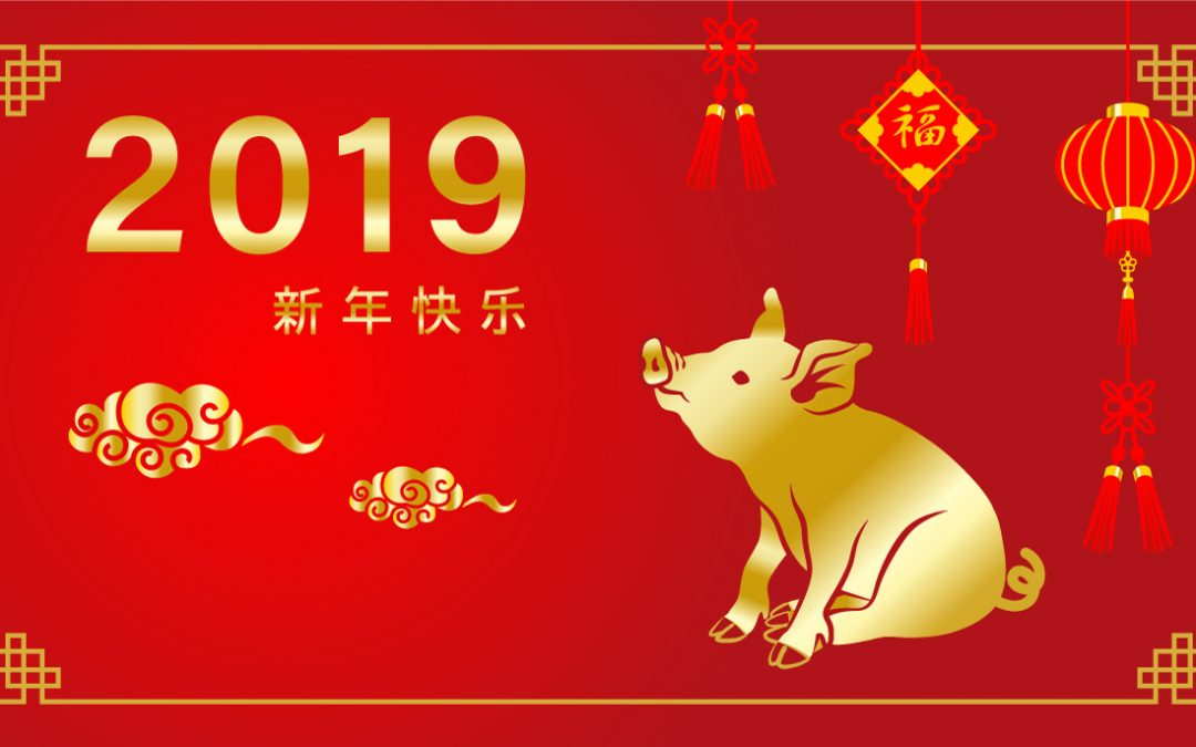 Happy Chinese New Year of the Pig 2019